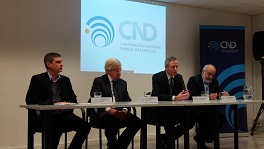 Álvaro García, Danilo Astori, Germán Benítez, Wilson Netto