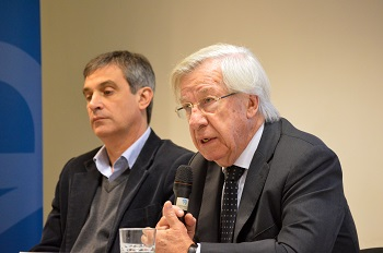 Álvaro García y Danilo Astori